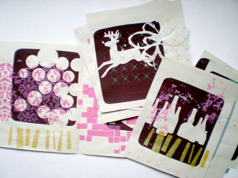 Design de cartes de Noël