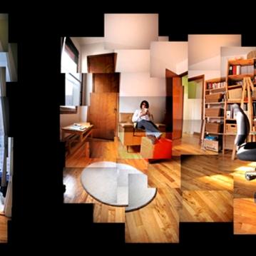 3 et demi, impression numérique, 2,5' X 8', 2011.