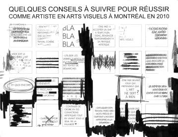 """Manifeste de l'artiste, graphite, marqueurs et encre sur impression à jet d'encre, 2010, 20"""" X 30"""", 2010."""