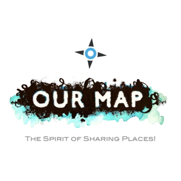 Our map, logo et identité visuelle, 2011.
