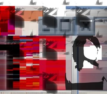 Monde virtuel, illustration. Image numérique, 2010.