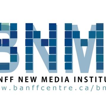 Conception de l'identité visuelle du Banff New Media Institute, 2007.