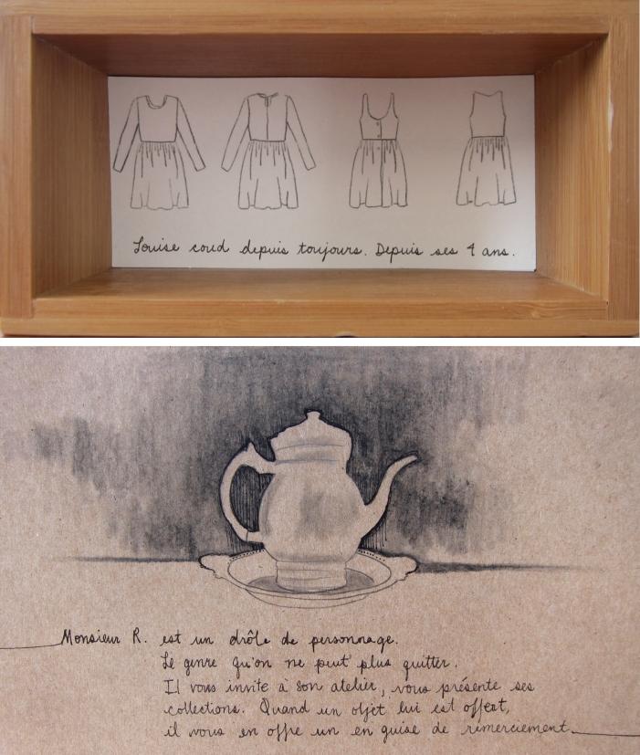 Le grand débarras des voisins, projet d'art relationnel, 2012.