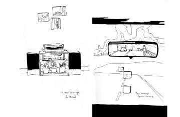 Home, illustration, encre sur papier, 2006.