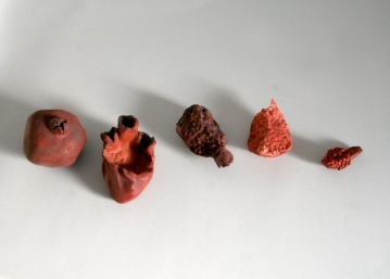 L'évolution du coeur, détail, 2004.