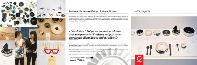 Carton de présentation de la résidence d'artiste utile[in]utile, 2011.