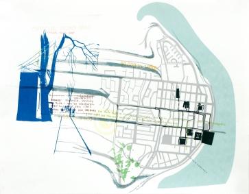 Official Road Map, détail, projet d'artiste et de médiation culturelle, 2006-2008.