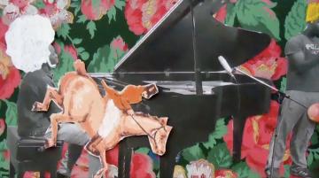Création scolaire en vidéo : Symphonie de la vie, 5m46s, 2014.